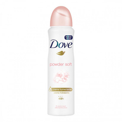 DESODORANTE DOVE AEROSSOL POWDER SOFT 89G
